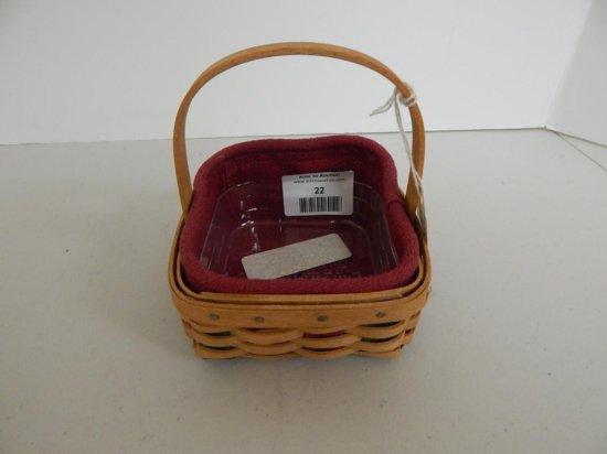 Longaberger Small Holiday Helper Basket