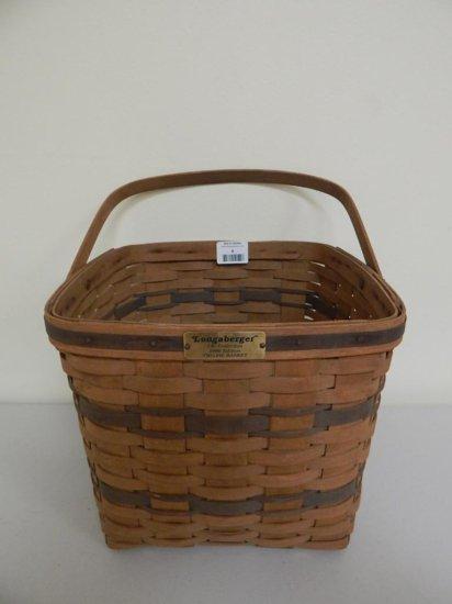 Longaberger J.W. Collection 4/12, 1986 Edition Large Two-Pie Basket