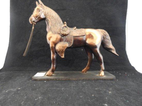 Vintage horse statue