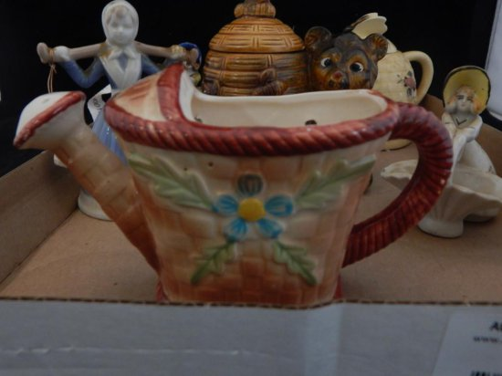 lot of 6 misc porcelain figurines