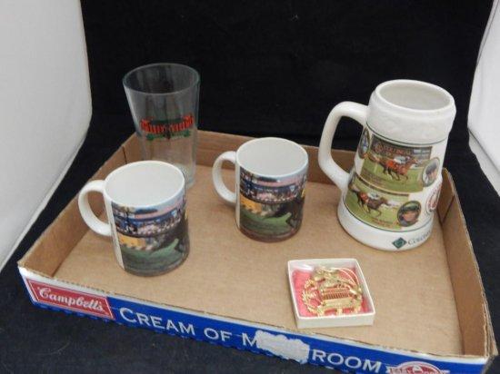 lot of 5 misc horse racing memorabilia