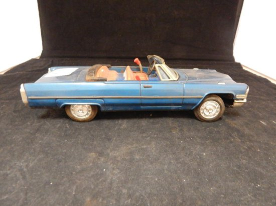 Vintage Tin Cadillac Toy car Japan