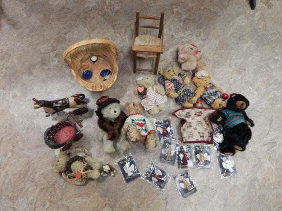 LARGE LOT OF BOYDS BEARS MIN OF 10 BOYDS IN EACH BAG