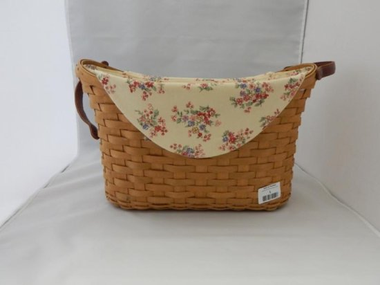 Longaberger large oval basket