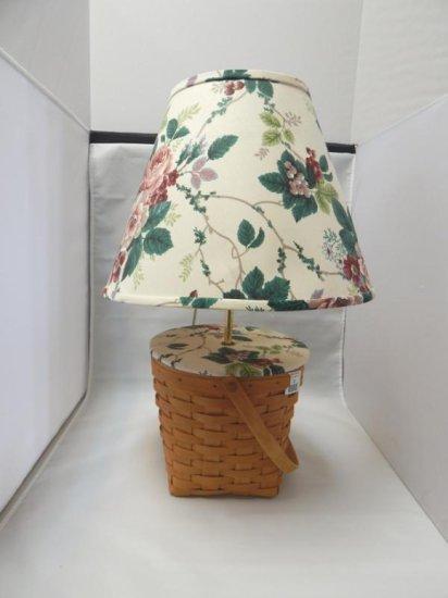 Longaberger basket lamp