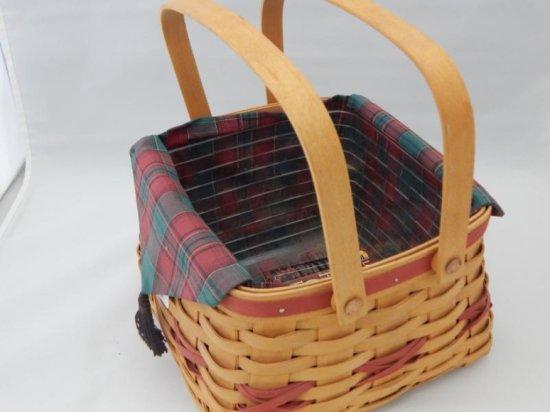 Longaberger christmas collection 2000 edition deck the halls basket