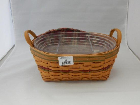 Longaberger oval basket