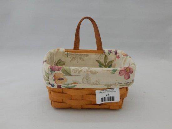Longaberger small key basket