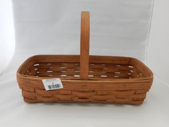 Longaberger rectangular basket