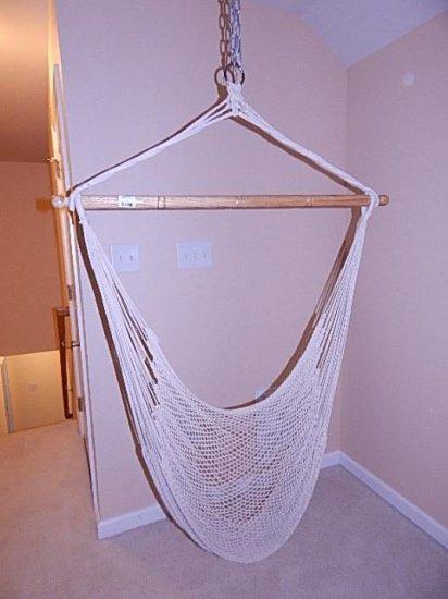 Hanging indoor Hammock seat