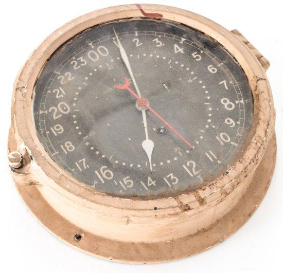 U.S. Navy Ship's Wall Clock, by Chelsea Clock Co.