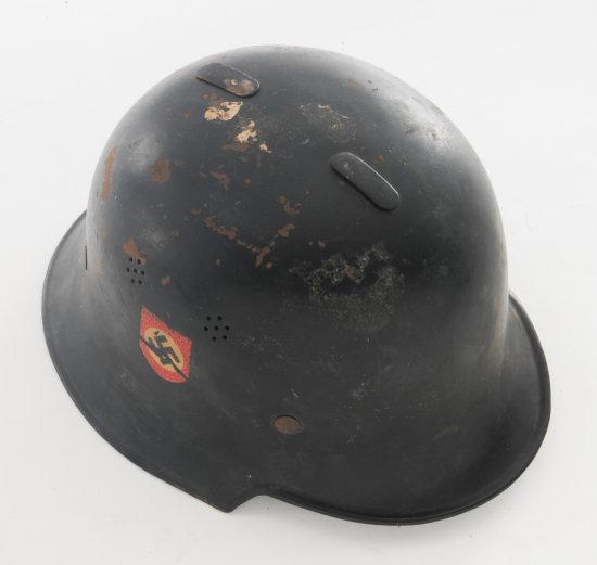 WWII German Police Helmet