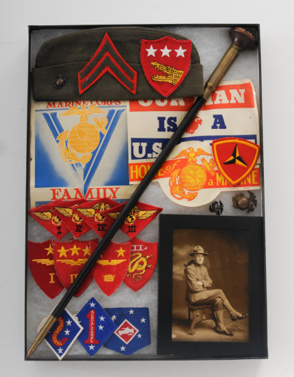 Lot of WWII+ USMC Insignia and more
