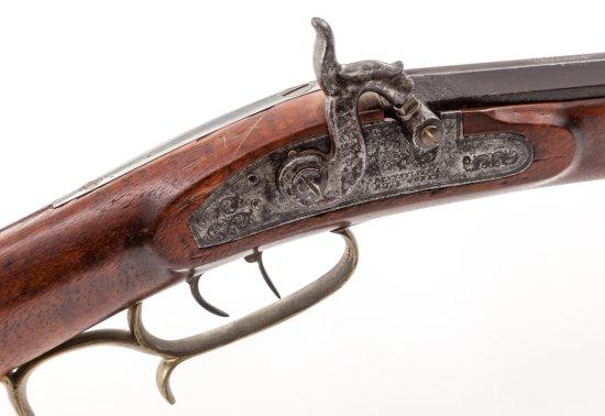 Mid-19th C. Halfstocked Plains Rifle