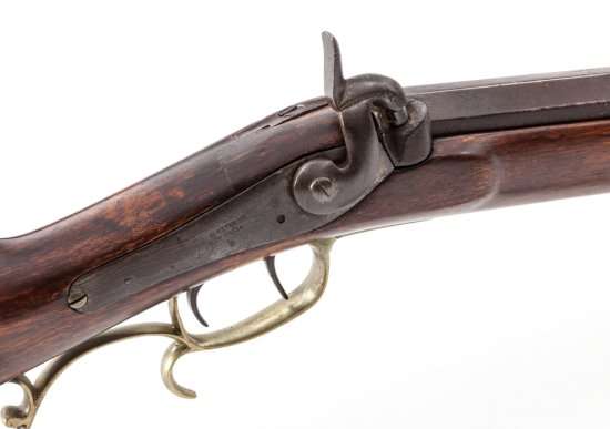 Single Shot Perc. Rifle, by Slotter & Co., Phila.