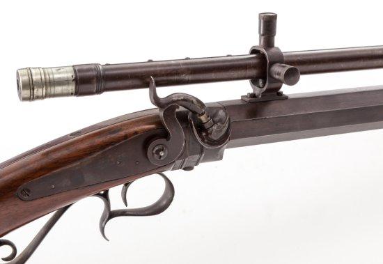 NY Style Single Shot Perc. Rifle, mkd Perry