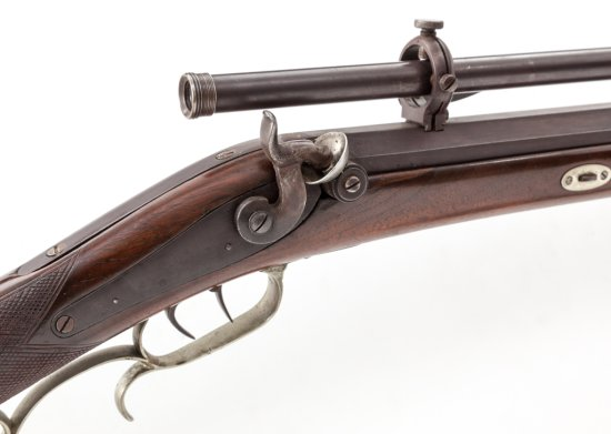 NY Single Shot Target Rifle, by Perry
