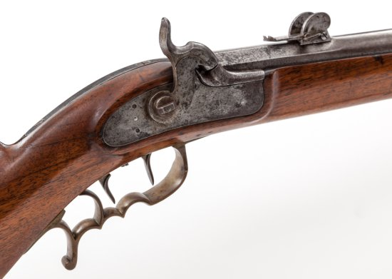 Antique Old Model Swiss Federal Military Rifle