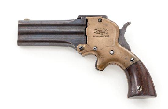 Marston 3-Barrel Derringer