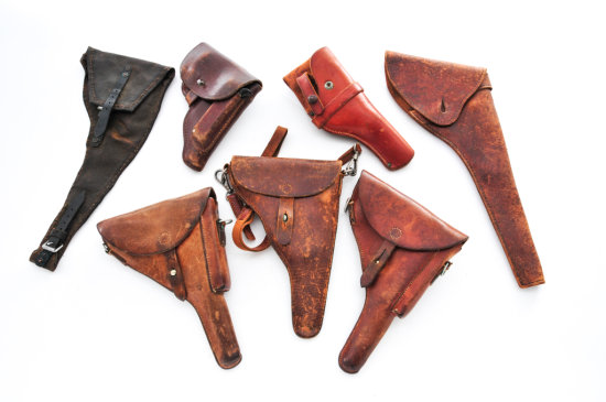 Lot of Mid-20th Century Holsters