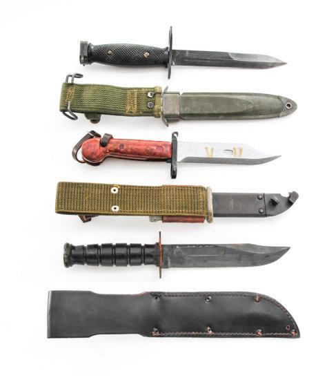 Military Bayonet/Knife Lot, 3 pieces