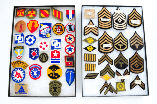 Lot of U.S. Military Patches, approx. 51 pieces