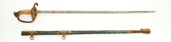 U.S. Model 1852 Naval Officer's Sword