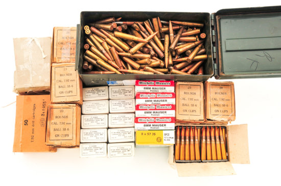 Ammo Lot: 1150 Rd. 8mm Mauser