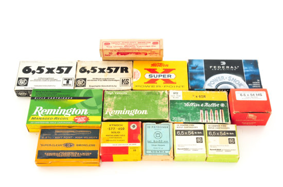 Ammo Lot, Fourteen (14) Boxes Total