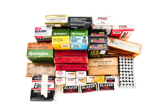 Thirty-three (33) Boxes of Misc. Ammo