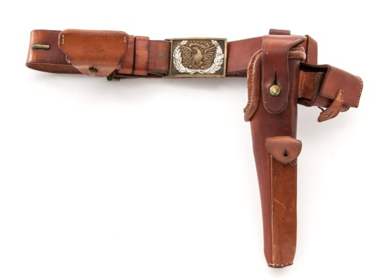 Late 19th C. Holster/belt/pouches for 1851 Navy