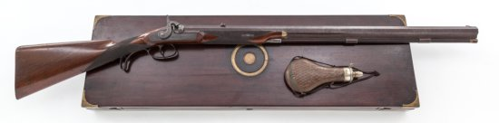 D.P. Slingsby English Bar Action Perc. Rifle