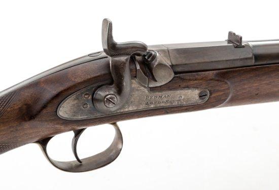 Lg. Bore Perc. Short Rifle, by Redman, London