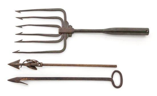 Lot of Three (3) Original Vintage Whaling Tools