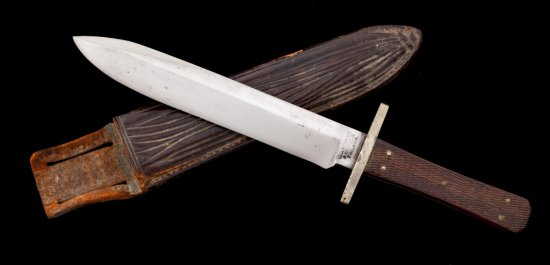 Early Am. Fixed Blade Knife, by Clarenbach/Herder