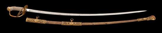 U.S. M.1872 Presentation Cav. Officer's Sword