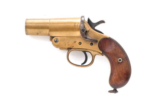 WWI Era Webley & Scott MK III Flare Pistol