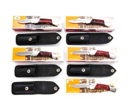Lot of 5 Buck M.500 ''Duke'' Knives