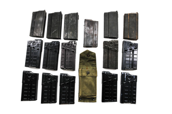 Lot of 16 High-Cap 20-Rd. Rifle Magazines