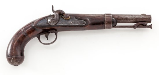 Rare Fayetteville Conversion of M.1836 Flintlock Pistol