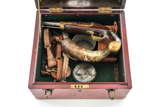 Antique Trapper's Case