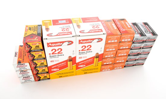 Ammo Lot:  Approx. 2400 Rounds of .22 LR