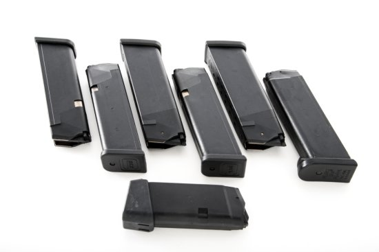 Lot of 7 High-Cap Glock Magazines