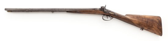 French LePage Side-by-Side Percussion Shotgun
