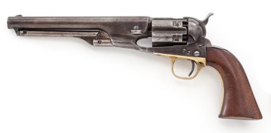 Colt Model 1860 Fluted Army Perc. Revolver