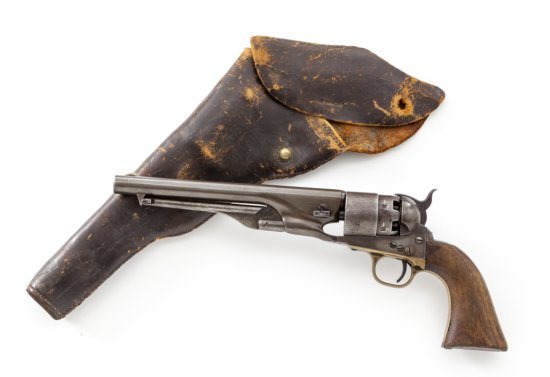 Martial Colt Model 1860 Army Percussion Revolver