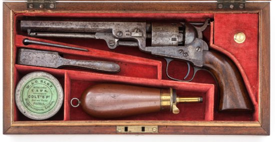 Cased Colt London 1849 Pocket Model