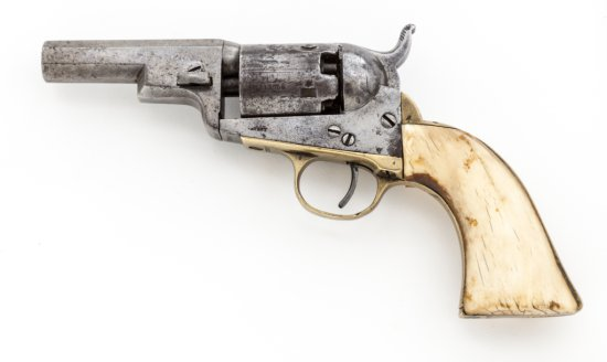 Colt Long Frame Model 1849 Wells Fargo Perc. Revolver