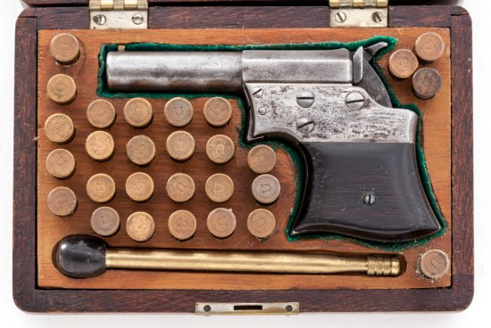 Remington Saw-Handled Derringer
