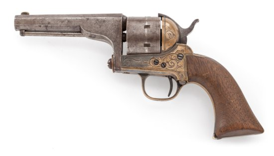 Moore's Patent Single Action Belt Revolver